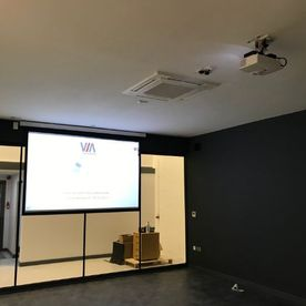 CommercialProjectorInstallation